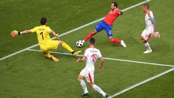 Коста-Рика – Сербия: видео голов и моментов матча Чемпионата мира 2018