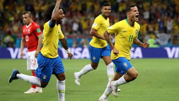 Бразилія – Швейцарія: відео голів та моментів матчу Чемпіонату світу 2018