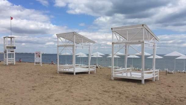 Порожні кримські пляжі