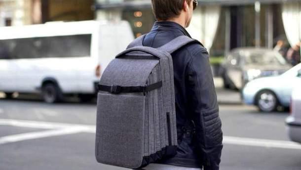 Рюкзак Pleatpack design