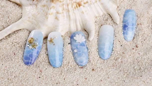 Манікюр в морському стилі: 20 стильних ідей