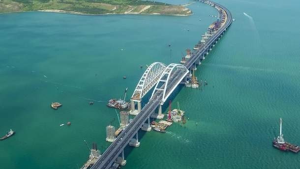 """На Кримському мосту встановили новий """"рекорд"""""""