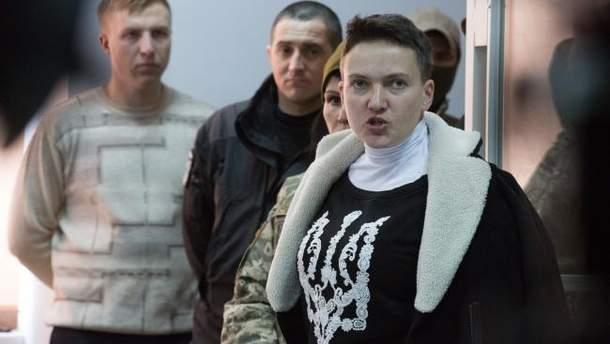 Надія Савченко написала листа Путіну