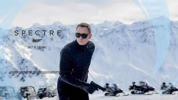 "Кадр из фильма ""Спектр"" 2015"