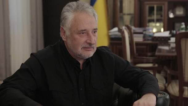 Порошенко уволил Жебривского с должности председателя Донецкой ВЦА