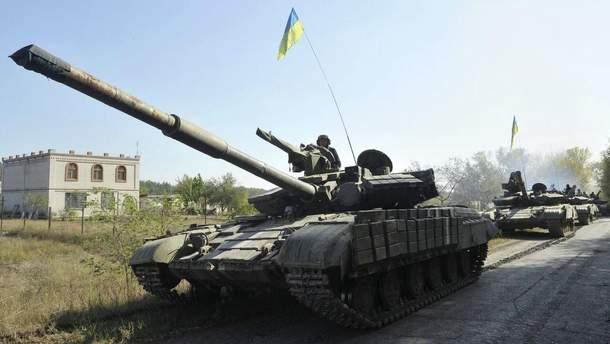 Украинские воины показали, как украинский танк может погрузиться под воду и выбраться на сушу (иллюстративное фото)