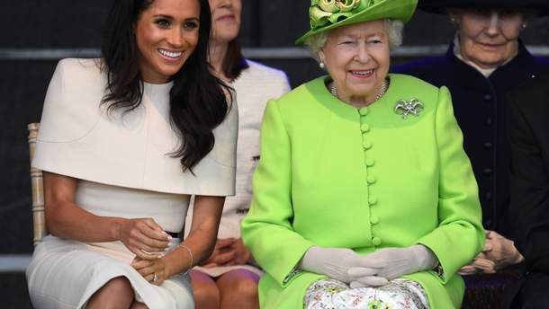 Меган Маркл і королева Єлизавета II