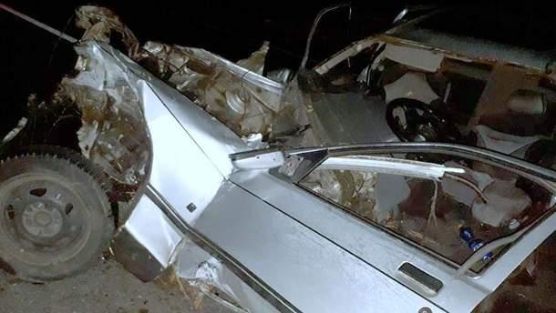 В Полтавской области произошло серьезное ДТП с участием авто нардепа Шахова