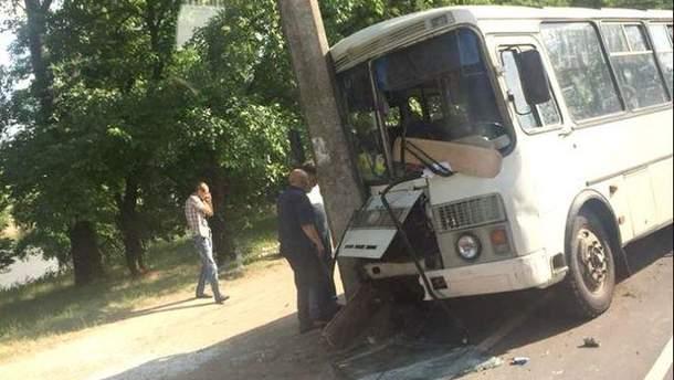 Потасовка с водителем привела к ДТП