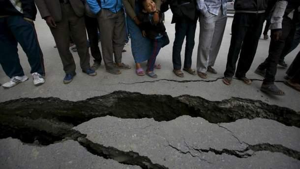 В Чили случилось мощное землетрясение