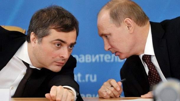 Сурков и дальше будет курировать оккупированные Россией территории Украины