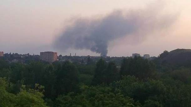 В оккупированном Донецке горит шахта