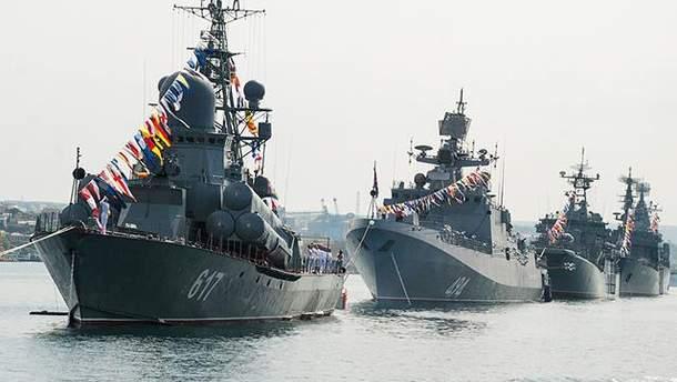 Россия привела Черноморский флот в полную боевую готовность