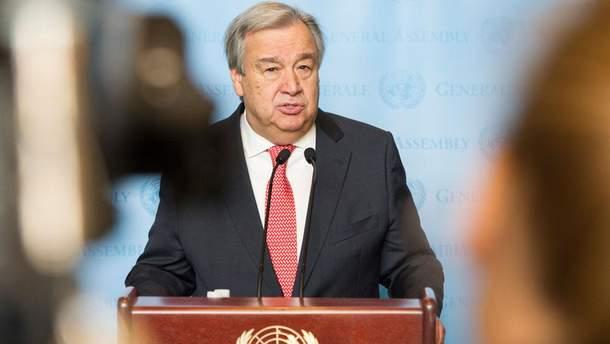 38 стран-участниц ООН призвали генсека Антониу Гутерриша к тому, чтобы на встрече с президентом России Владимиром Путиным он поднял вопрос украинских политзаключенных.