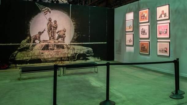 Картину похитили за несколько часов до открытия выставки