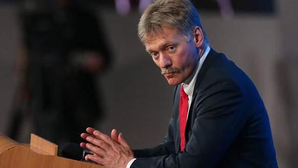 Пєсков прокоментував недопуск Денісової до Сенцова