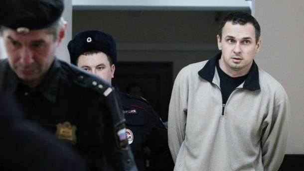 У Росії заявили, що Сенцов припинив голодування