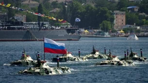 ЧФ Росії привели у підвищену бойову готовність через Чемпіонат світу з футболу
