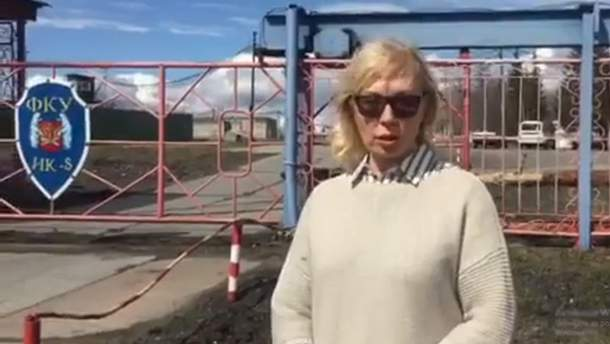 Денисову не пустили на встречу с Сенцовым в российской колонии