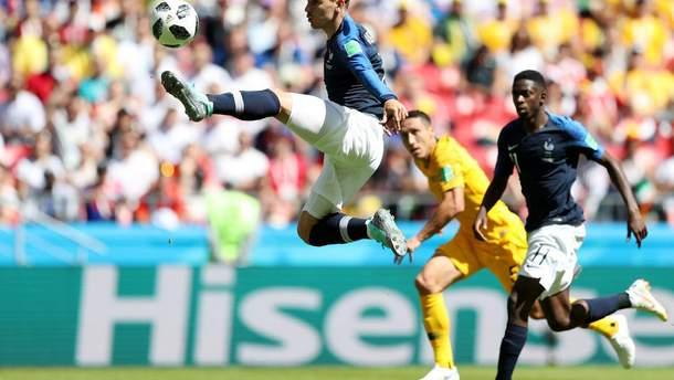Франция – Австралия результат матча Чемпионата мира 2018