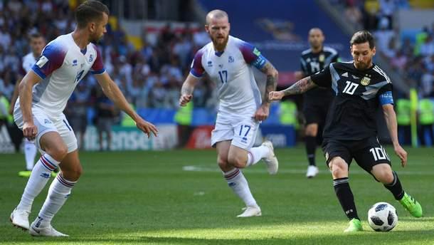 Аргентина – Ісландія результат матчу Чемпіонату світу 2018