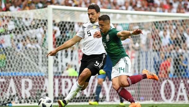 Німеччина – Мексика: результат та огляд матчу Чемпіонату світу з футболу 2018
