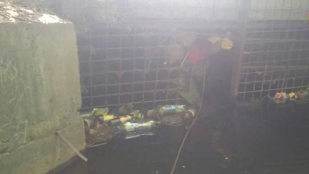 Тело мужчины обнаружили в одном из коллекторов Киева: он утонул в результате ливня, прошедшего в столице накануне