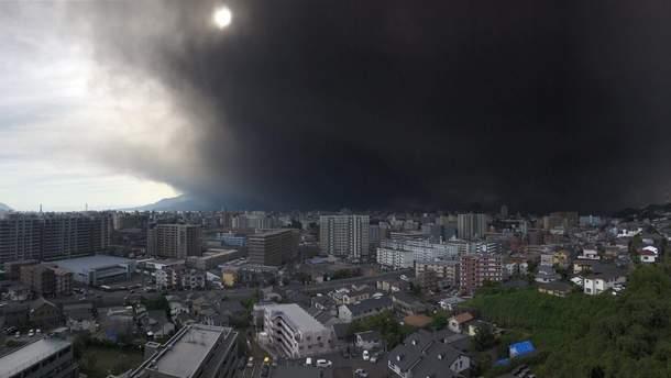 У Японії сталося виверження вулкану Сакурадзіма