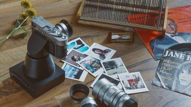 Немецкая компания разработала насадку на пленочные камеры для мгновенной печати фото