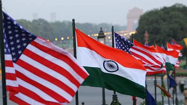 Індія накладе підвищені мита на групу товарів з США