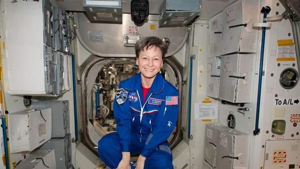 Пеггі Вітсон, перша жінка-командир МКС, пішла на пенсію