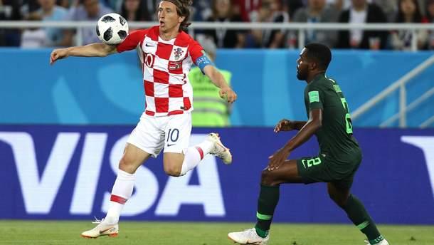 Хорватия победила Нигерию на Чемпионате мира