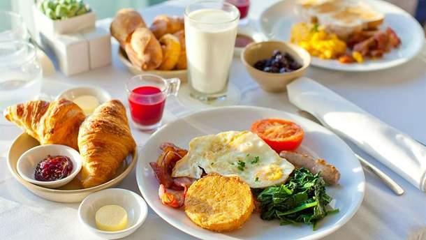 Здорове харчування: сніданок
