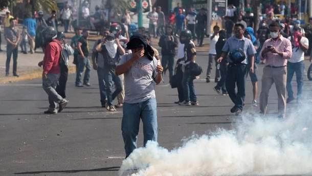 За неделю количество жертв массовых беспорядков в стране резко возросло