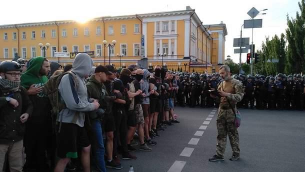 17 июня полиция задержала 57 человек за Марш равенства в Киеве