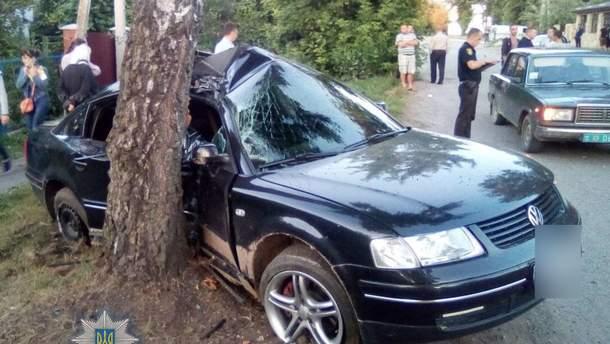 В ДТП на Ровенщине пострадало шестеро детей