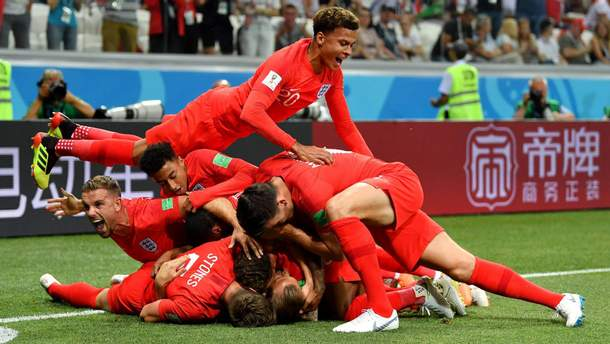 Англия - Тунис результат матча