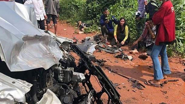 ДТП у Камбоджі, де загинула принцеса та постраждав принц