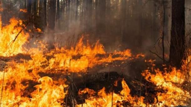 Предупреждение о пожарной опасности