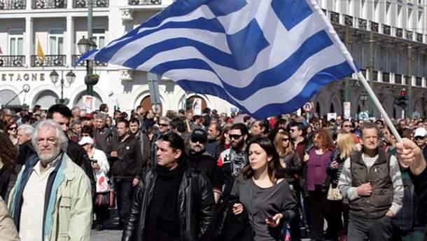 В Греции вспыхнули столкновения между протестующими и полицией
