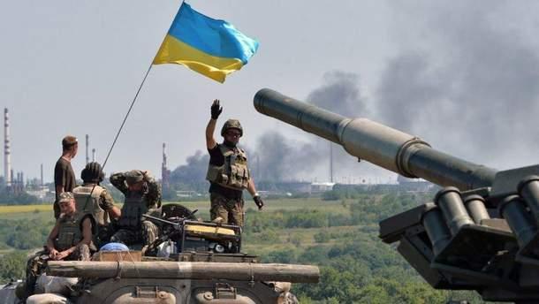 Українські бійці поранили п'ятьох окупантів на Донбасі