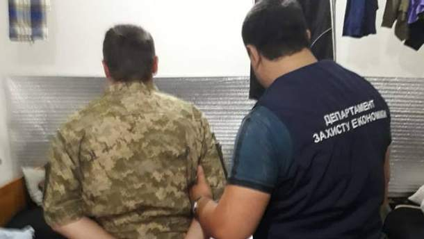 Подполковника ВСУ задержали на взятке