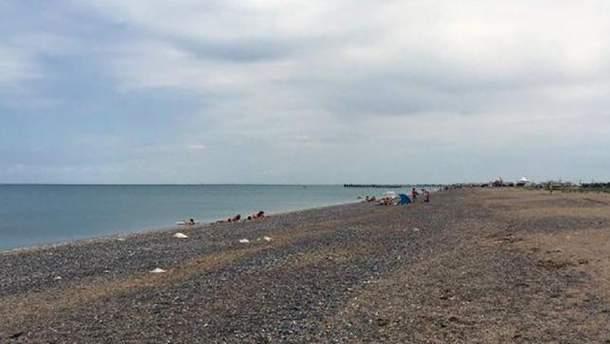 Пляжі окупованого Криму вражають пусткою