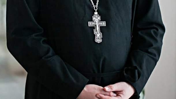 Священик РПЦ стріляв зі зброї