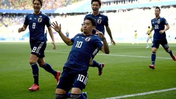Колумбія – Японія голи та моменти матчу Чемпіонату світу 2018