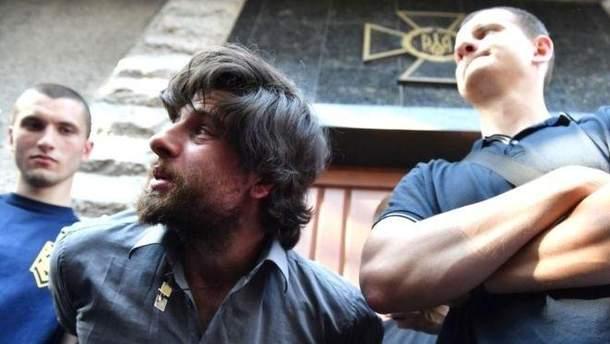 Служба безопасности Украины открыла уголовное производство против руководителя националистической организации С14 Евгения Карася