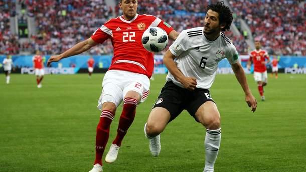 Росія – Єгипет відео голів та моментів матчу Чемпіонату світу 2018