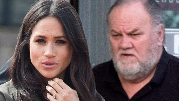 Меган плакала, – Томас Маркл розповів, про що він розмовляв з принцом Гаррі до весілля