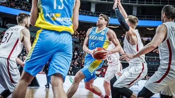 Украина vs Латвия