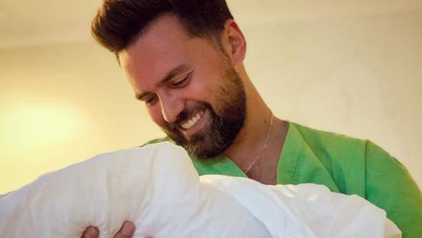 Тимур Мірошниченко вперше став батьком